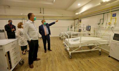 Hospital de campanha da Fonte Nova já está funcionando; leitos serão batizados com nomes de jogadores