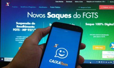 Caixa credita saque emergencial do FGTS para nascidos em agosto