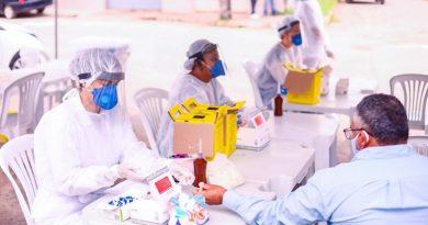 Sesau atende 120 pessoas na Nova Vitória e 78 fazem teste rápido de coronavírus