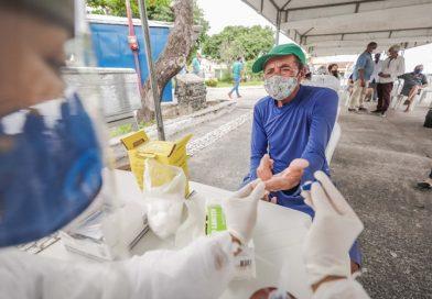 Coronavírus: moradores de Vila de Abrantes são testados e distrito é higienizado