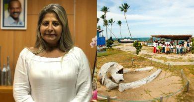 """""""O trabalho do Tamar continua a ser desenvolvido emArembepe"""", esclarece Lucia Bichara"""