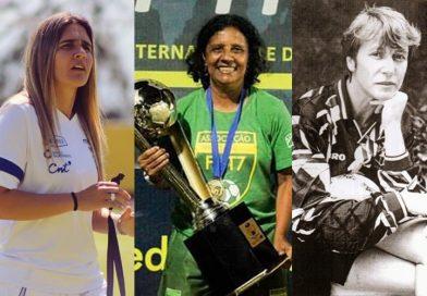 Dilma Mendes participa de live com mulheres que revolucionaram o futebol feminino no Brasil