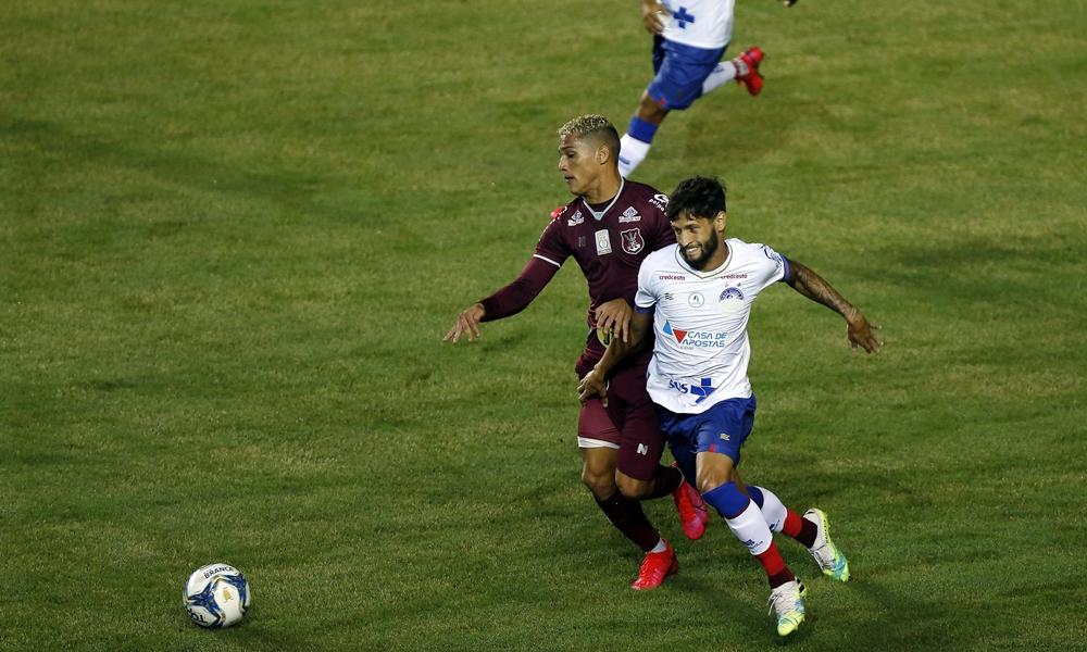 Bahia goleia Náutico na reestreia em campo e avança na posição da Copa Nordeste
