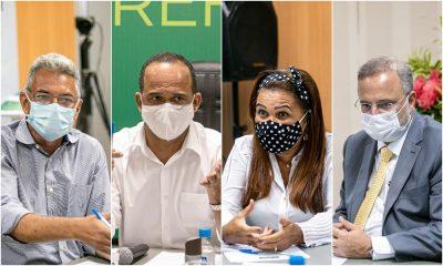 Prefeitos da RMS articulam protocolo unificado no combate ao coronavírus