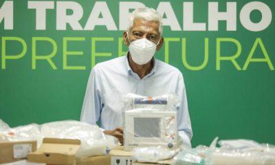 Camaçari recebe seis respiradores do Ministério da Saúde para tratamento da Covid-19