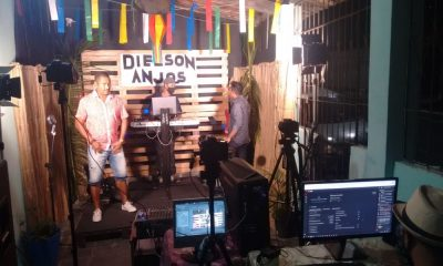 Projeto Live Show: Dielson Anjos celebra sétima edição com muita música nesta quinta-feira