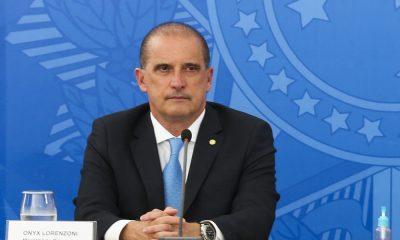 Ministro da Cidadania, Onxy Lorenzoni testa positivo para Covid-19