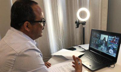 Elinaldo participa de transmissão de posse da Fafen; atividades serão retomadas em 2021