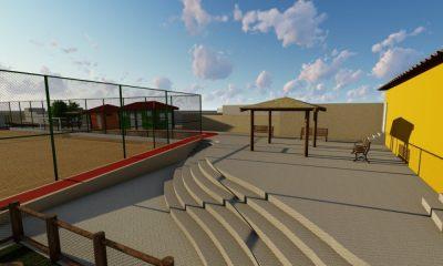 Praça e Campo do Parque Satélite serão requalificados em Camaçari; confira projeto
