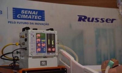 Após parceria com Senai Cimatec, ventilador pulmonar da Nasa será produzido no Brasil