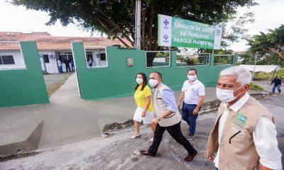Três equipamentos de saúde requalificados são entregues em Camaçari