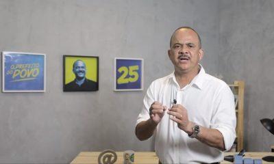 Em isolamento devido à Covid-19, Elinaldo faz campanha pelas redes sociais