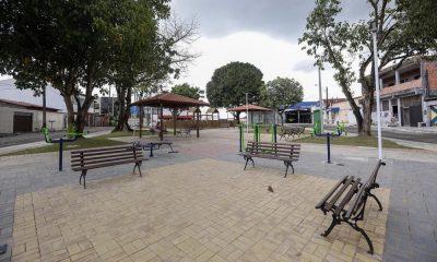 Com diversos equipamentos, Praça da Rua 19 é inaugurada na Gleba A
