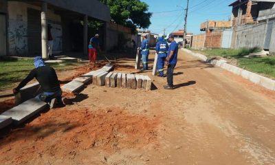 Governo intensifica obras de asfaltamento em Barra do Pojuca