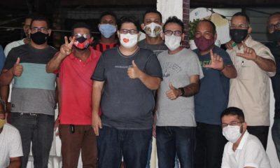 Pré-candidato a vereador, Tagner Cerqueira recebe apoio de Josué do Sindicato e dirigentes sindicais de Camaçari