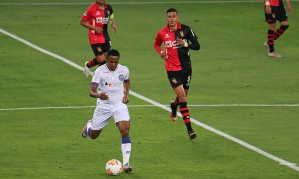 Bahia estreia com derrota na Sul-Americana; próximo jogo será dia 5