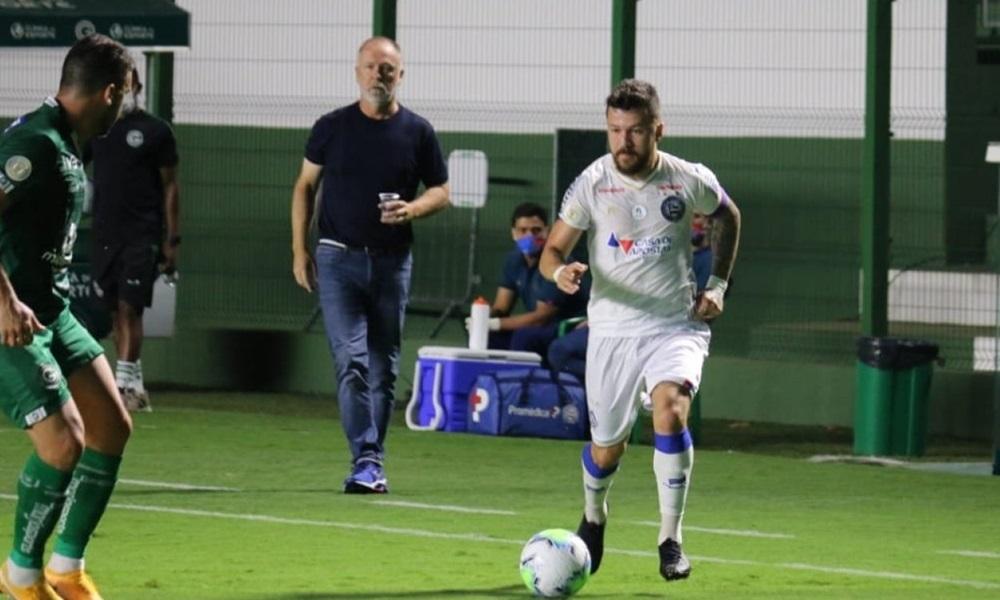 Após empate contra o Goiás, Bahia enfrenta o Atlético-MG nesta segunda-feira
