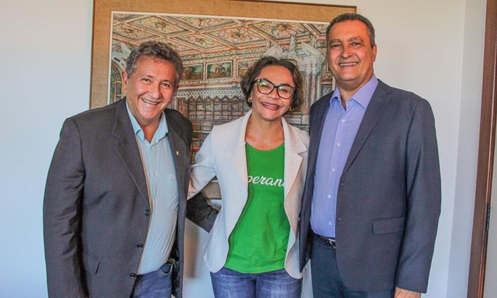 Rui Costa participa de carreata com Ivoneide Caetano nesta sexta-feira em Camaçari