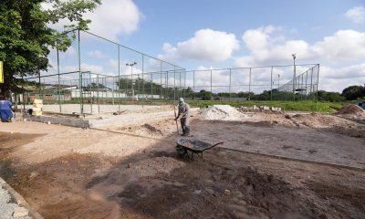 Obras da Praça do Campo na Gleba E estão 20% concluídas