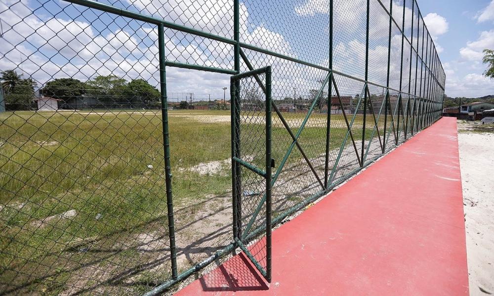 Obras do campo de Parafuso já estão 90% concluídas, afirma Seinfra