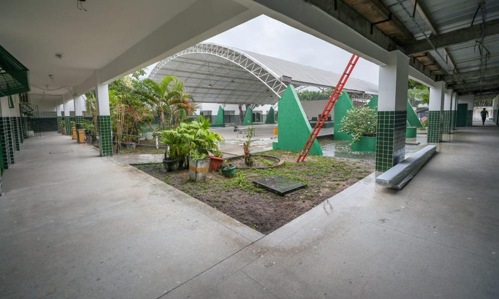 Com investimento de R$ 633 mil, obras da Escola Denise Tavares devem ser concluídas em fevereiro