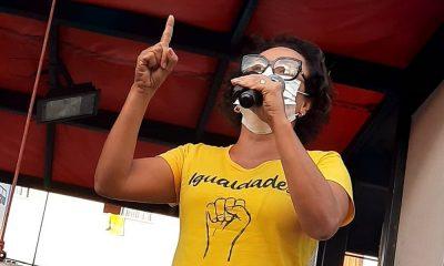Carreatas em diversos bairros marcam quarta-feira da candidatada a prefeita Ivoneide Caetano