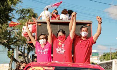 Forte candidato do PT, Tagner Cerqueira promove mega carreata em Camaçari