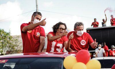 Ivoneide Caetano e Fabio Lima realizam carreatas em Camaçari nesta terça-feira