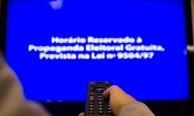 Propaganda eleitoral gratuita no rádio e na TV começa nesta sexta-feira