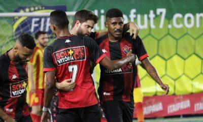 Vitória Camaçari vence o Atlético Sport na primeira rodada da Liga Fut7