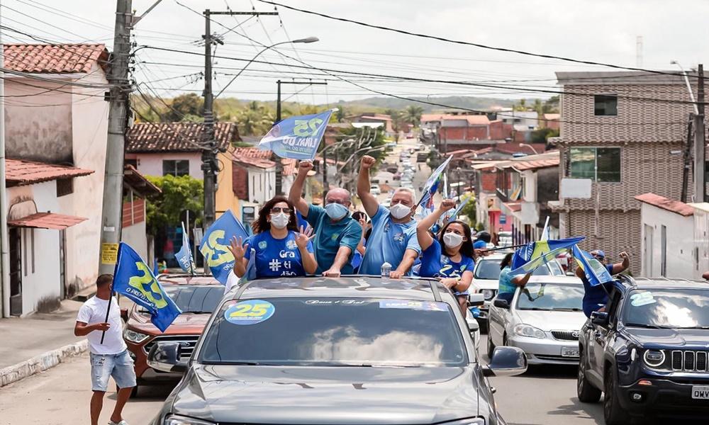 Sem a participação de Elinaldo, Tude e Ivana cumprem agenda agitada de campanha