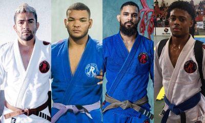 Quatro atletas representam Camaçari em competição baiana de jiu-jitsu