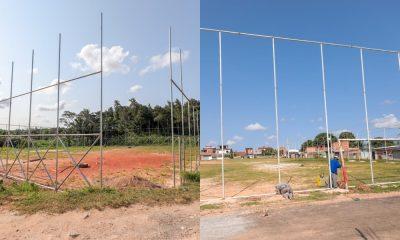 Campos de futebol da Nova Vitória e do Cristo Redentor passam por requalificações