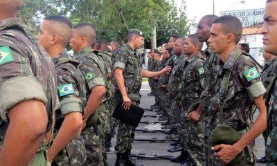 Exército realiza treinamento em Camaçari até sexta-feira