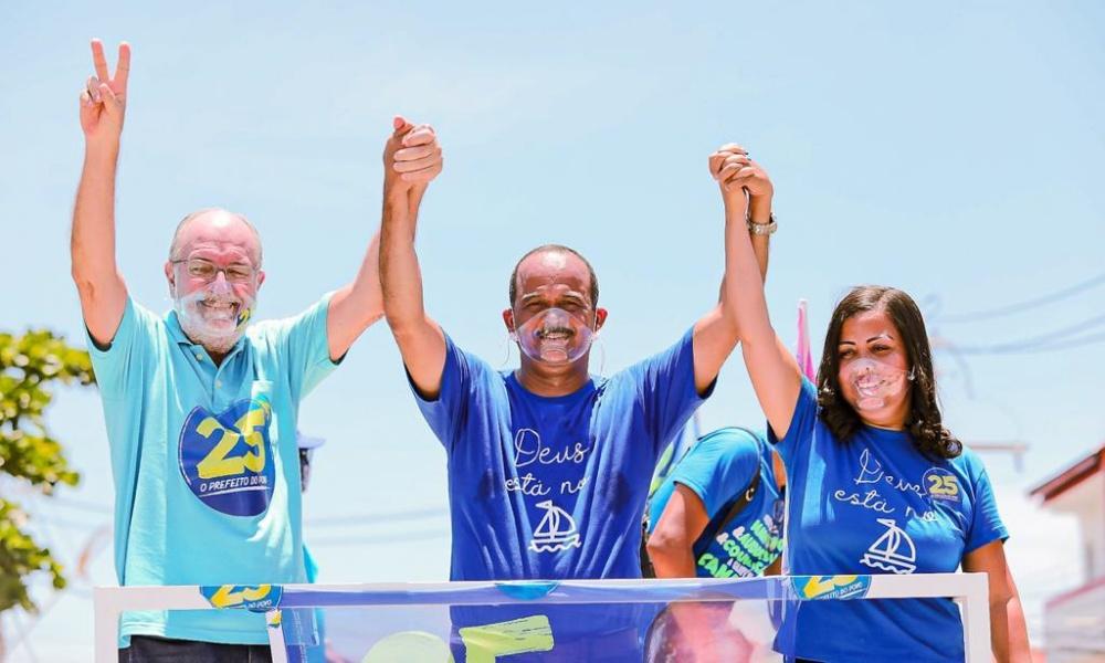 Com novas medidas de proteção, Elinaldo retoma participação em carreatas