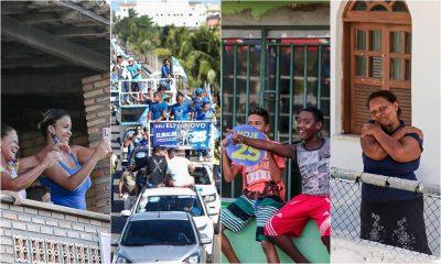 Elinaldo comemora reeleição com mega carreata de 12 horas entre orla e sede