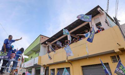 Elinaldo realiza última carreata de campanha em clima de vitória
