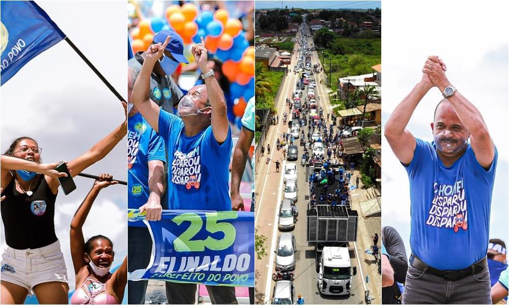 Elinaldo promove maior carreata dos últimos tempos