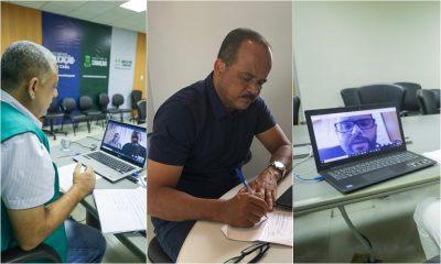 Encontro virtual debate fortalecimento da pesca em Camaçari