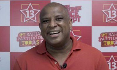 Secretário de combate ao racismo do PT, Evilailtom José anuncia apoio ao candidato a vereador Márlon Tolentino