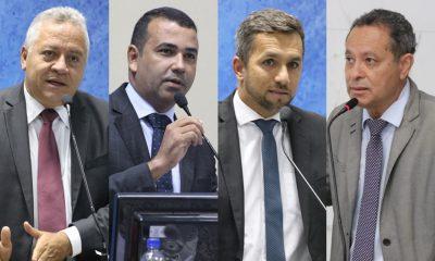 Eleição da Câmara: Natan, Curvelo, Júnior e Flávio disputam preferência de Elinaldo