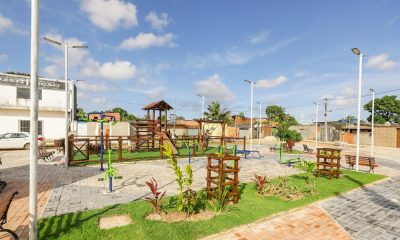 Com área de três mil metros quadrados, obras da Praça do Burissatuba são concluídas