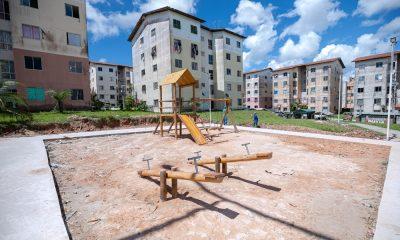 Requalificações das praças do Penha, Lucaia e Mutá proporcionarão mais dignidade aos moradores dos residenciais