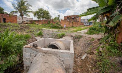 Obras no Parque das Mangabas, Novo Horizonte, Burissatuba e Santa Maria devem melhorar qualidade de vida nas regiões