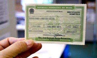 Mais de 1,5 milhão de títulos eleitorais são cancelados na Bahia