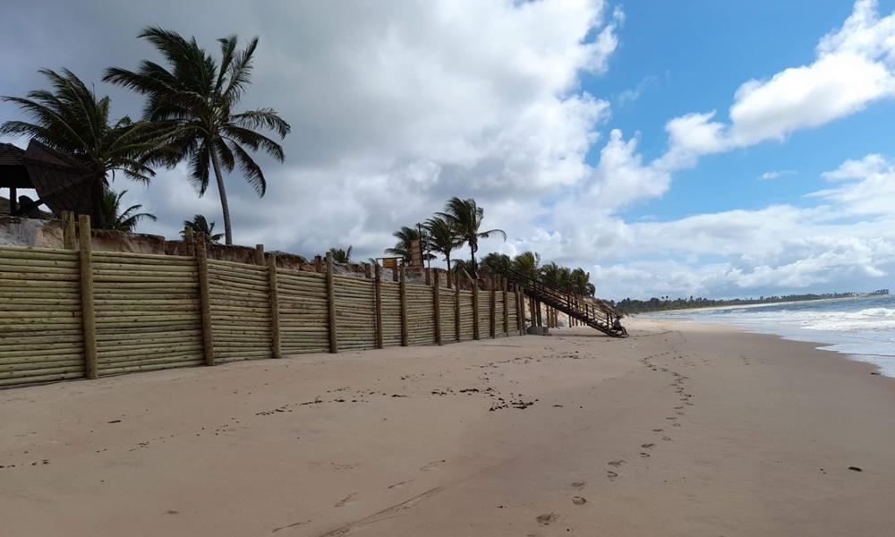 Sedur investiga construção irregular realizada pelo Condomínio Paraíso do Mar em Guarajuba