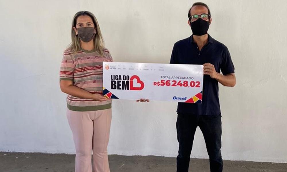 Bracell doa R$ 56 mil para famílias impactadas pela pandemia na Bahia