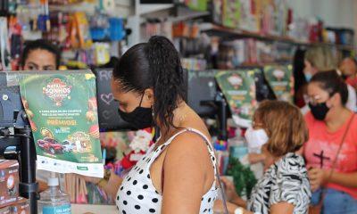Campanha Natal dos Sonhos agita comércio de Camaçari durante compras de fim de ano