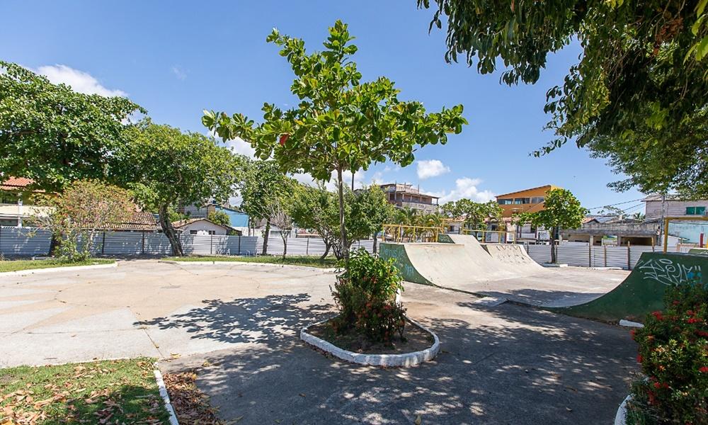 Praça da Matriz de Vila de Abrantes passa por restauração
