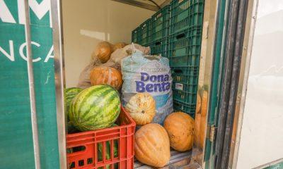 Alimentos do PAA são distribuídos para instituições beneficentes de Camaçari
